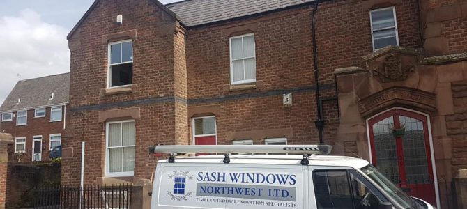 Double Glazed Sash Windows, Woolton, Liverpool