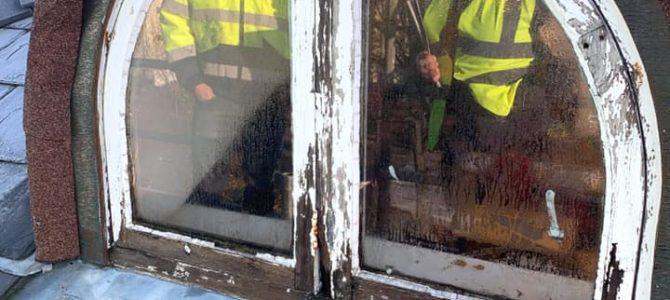 Window Renovation on Liverpool Project